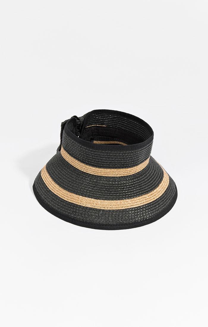 Roll up visor, black