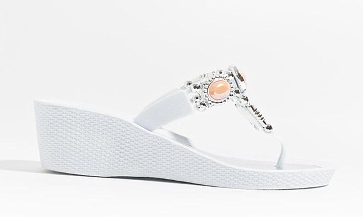 Appollo Shoe White/Coral-7710