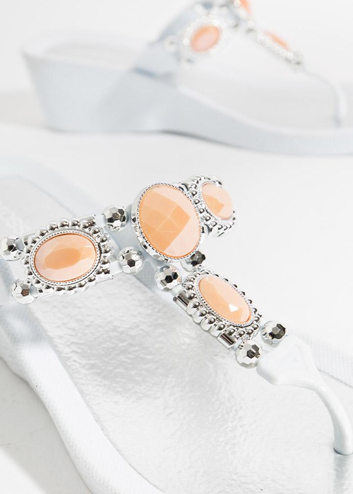 Appollo Shoe White/Coral-0