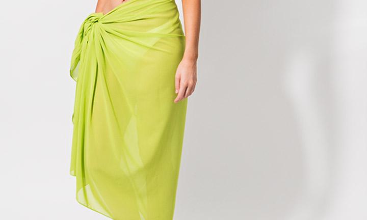 Classic sarong, green