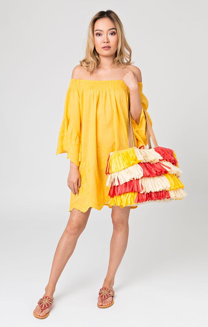 Mustique Bardot Dress-0