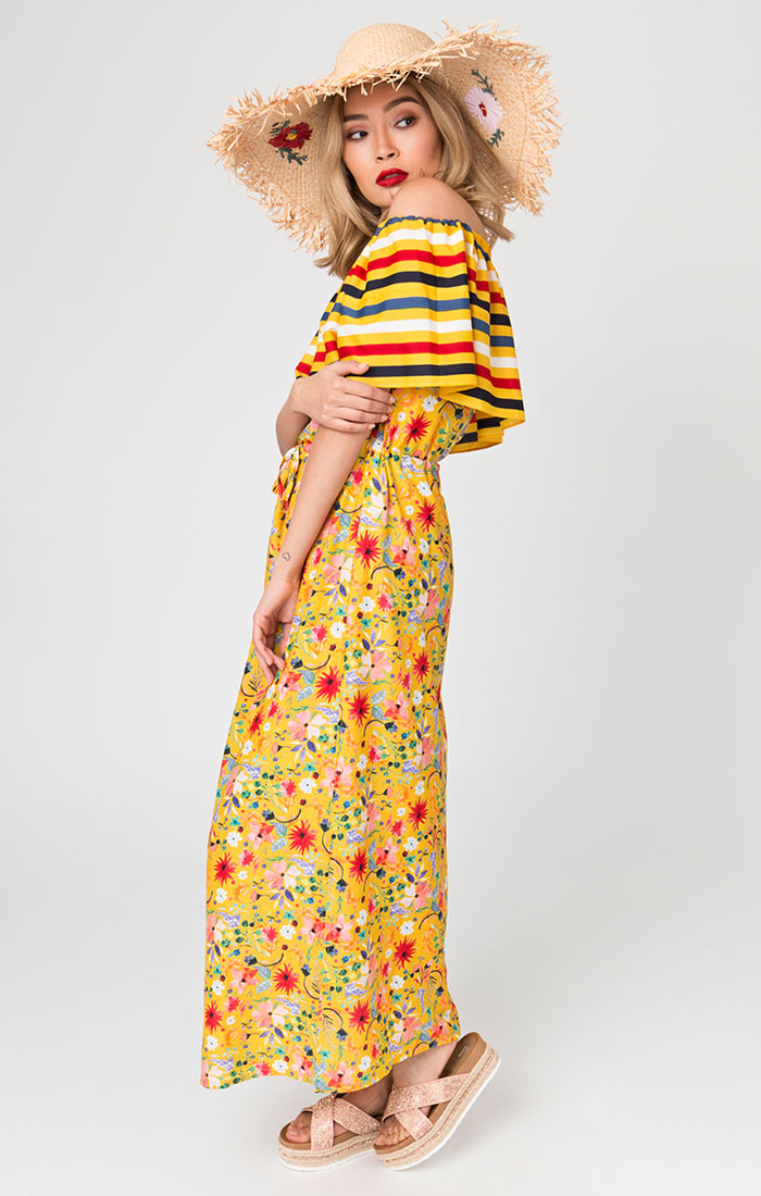 Saffron Maxi Dress-0