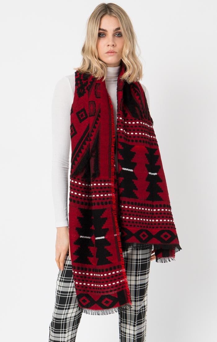 Red/Black Scarf