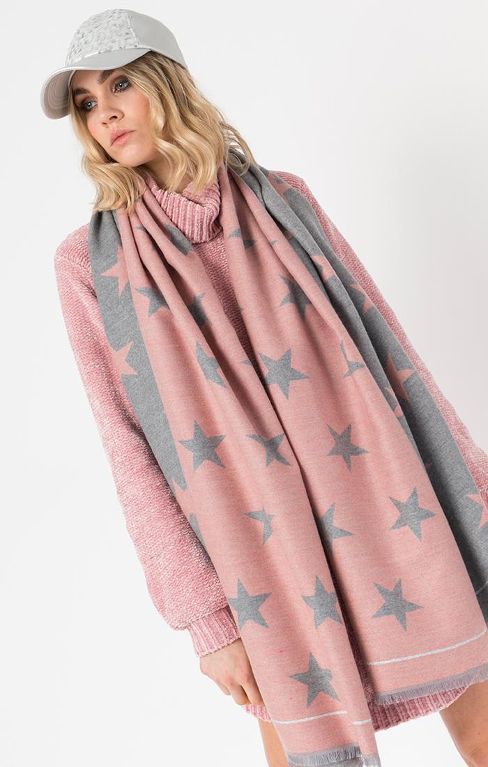 Garner Scarf Pink-11380