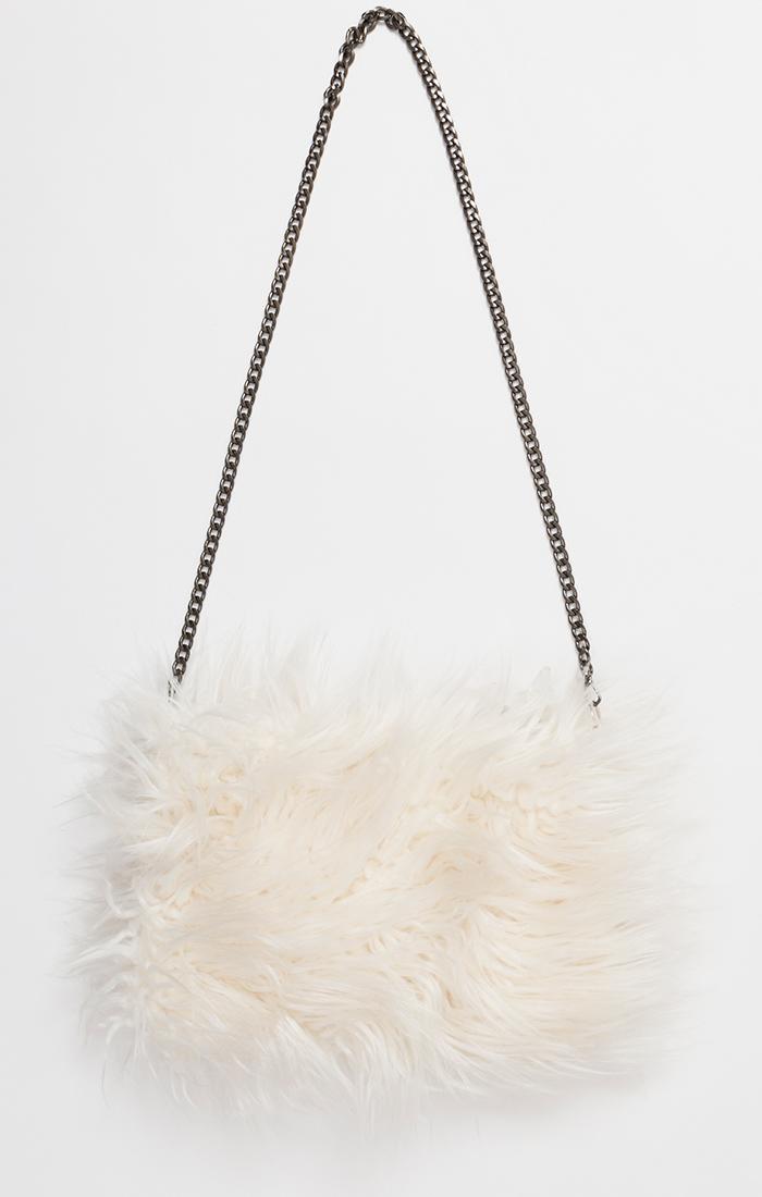 Shaggy Faux Fur Bag